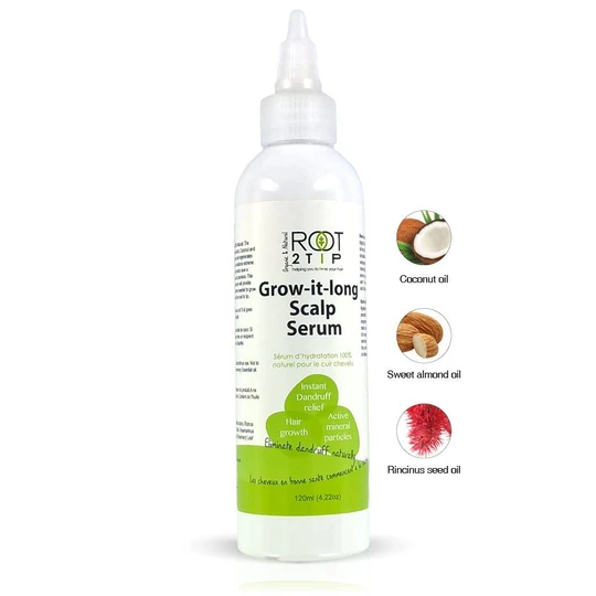 Root2Tip Natural hair growth scalp oil